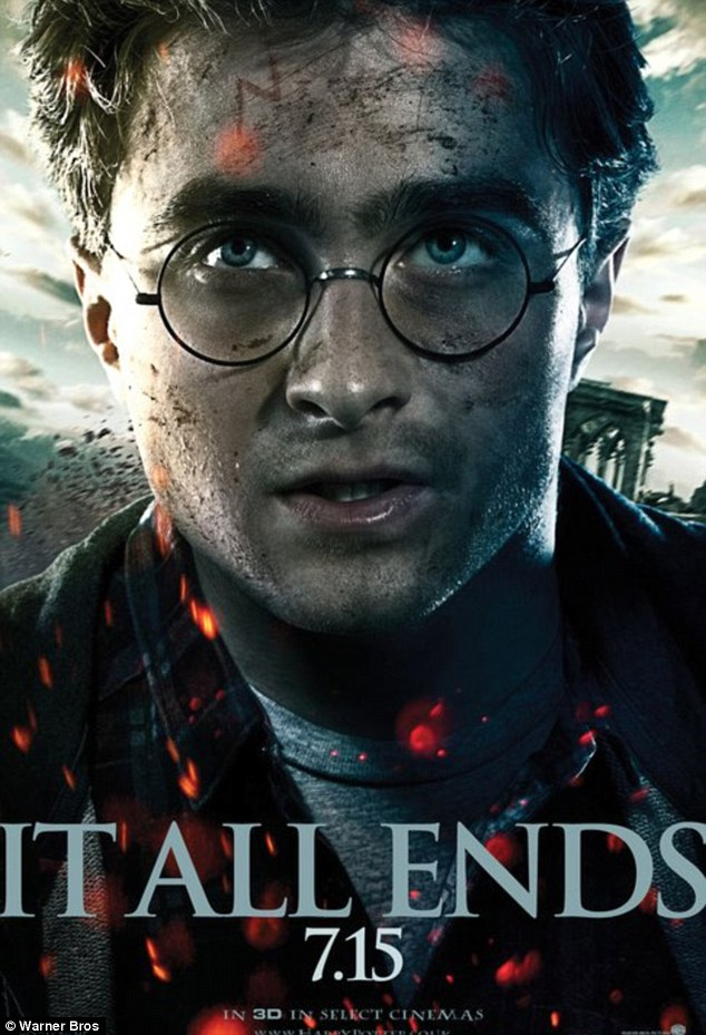 Sinister new Harry Potter And The Deathly Hallows posters revealed as fans prepare for release of final movie