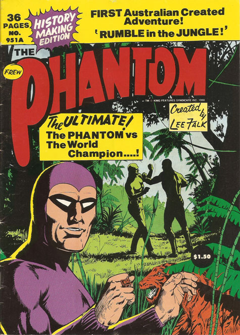 Frew Publications Comics - The Phantom #8 Replica VF/NM Bagged and Boarded