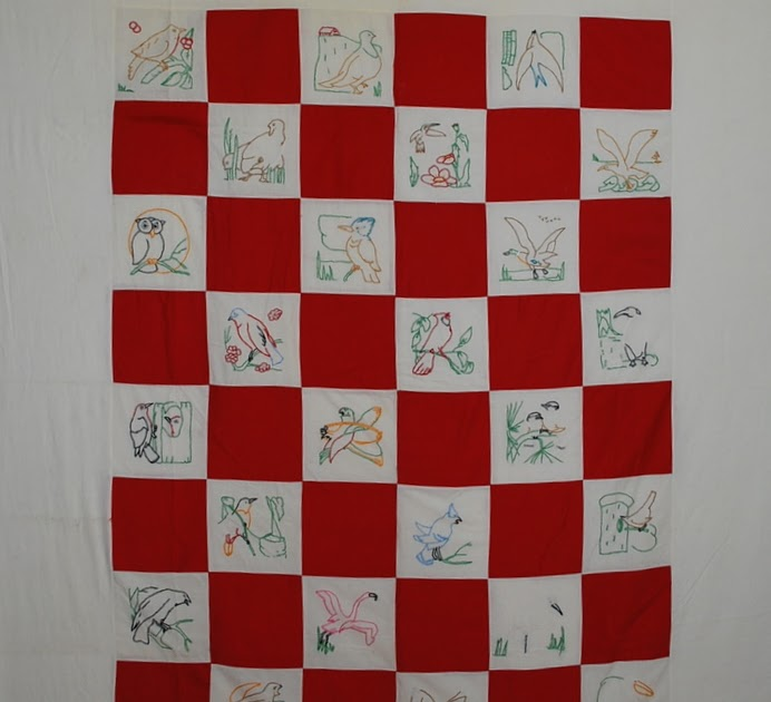 Quilts vintage and antique red and white quilts again for Red door design quilts