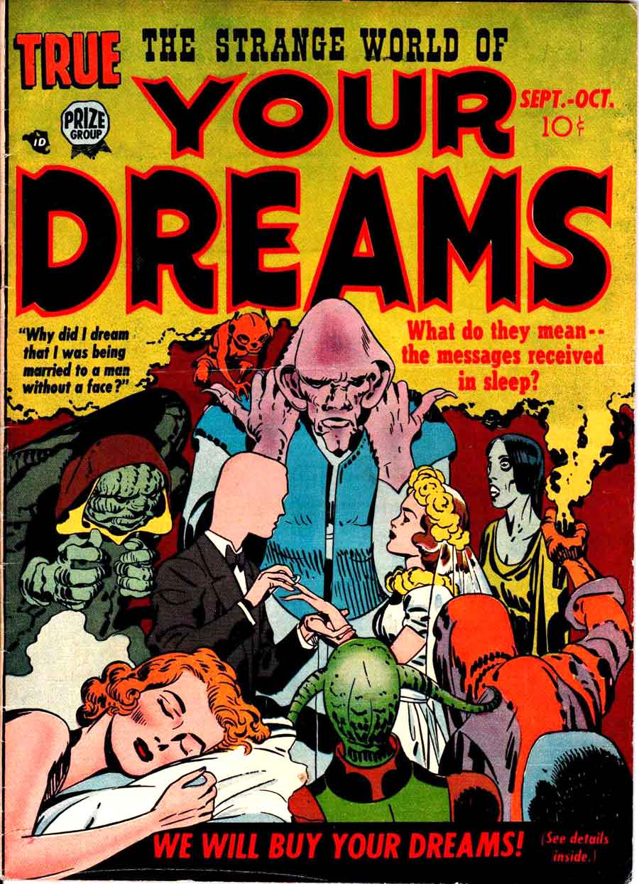 Strange World Of Your Dreams #2 - Jack Kirby art & cover