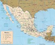 Mapa de MEXICO para imprimir mapa de mexico para imprimir