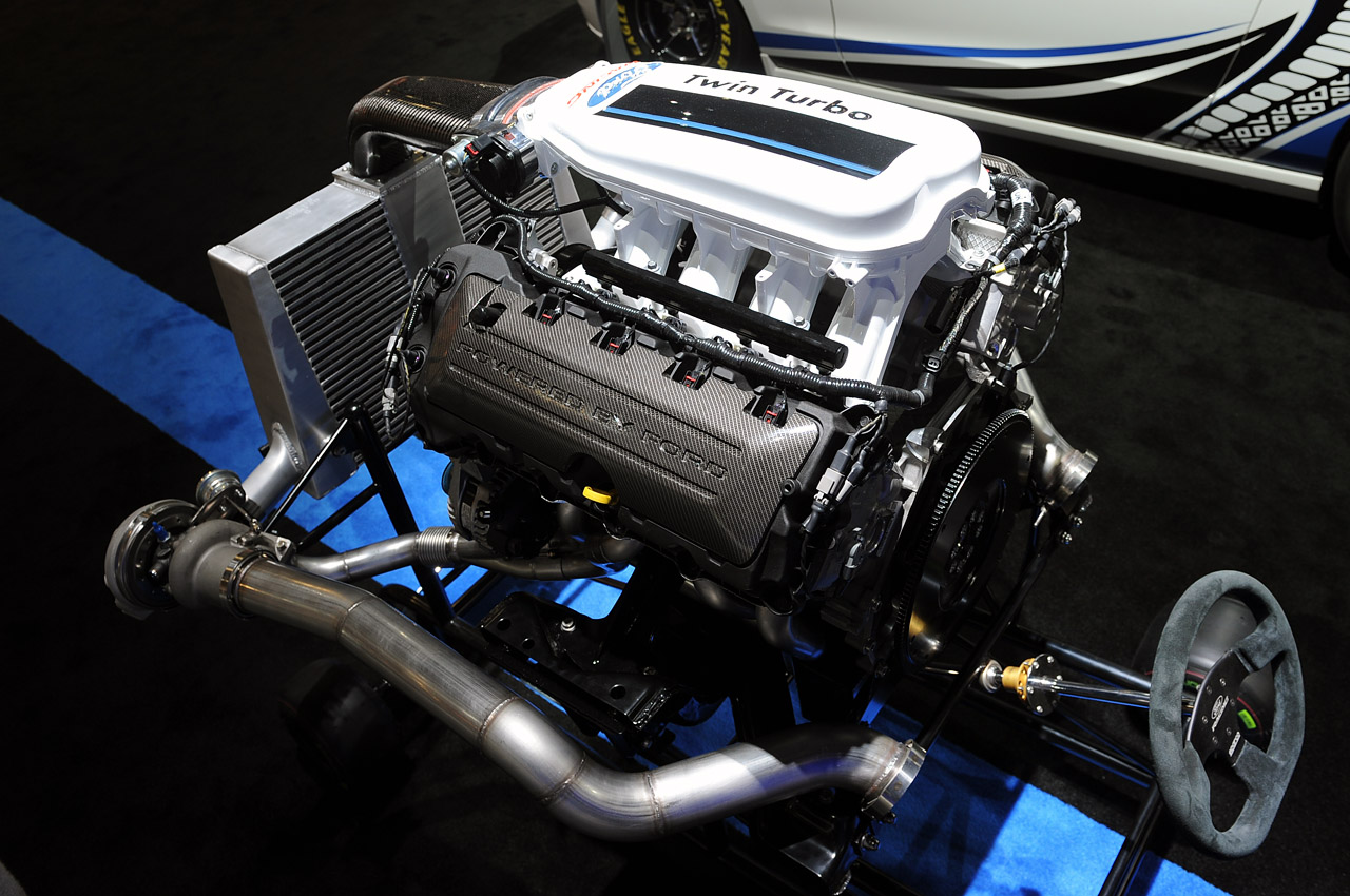 Supercharged Twin Turbo v8 Jet Concept Twin-turbo v8