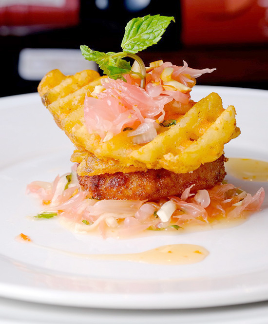 US POTATO SAFARI 3 IN DAVAO CITY: US Potato Crisscut and Shrimp Cake