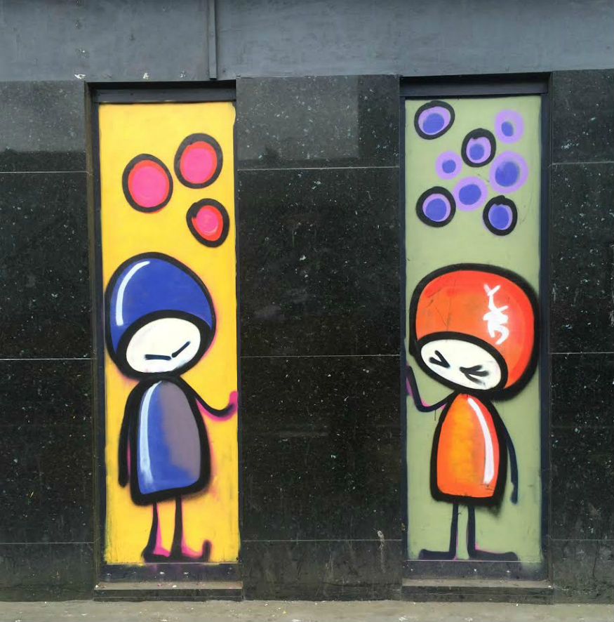Femme Fierce croydon graffiti