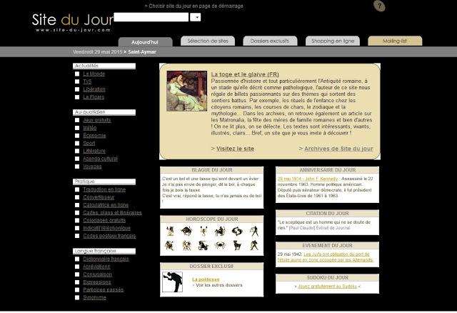 http://www.site-du-jour.com/