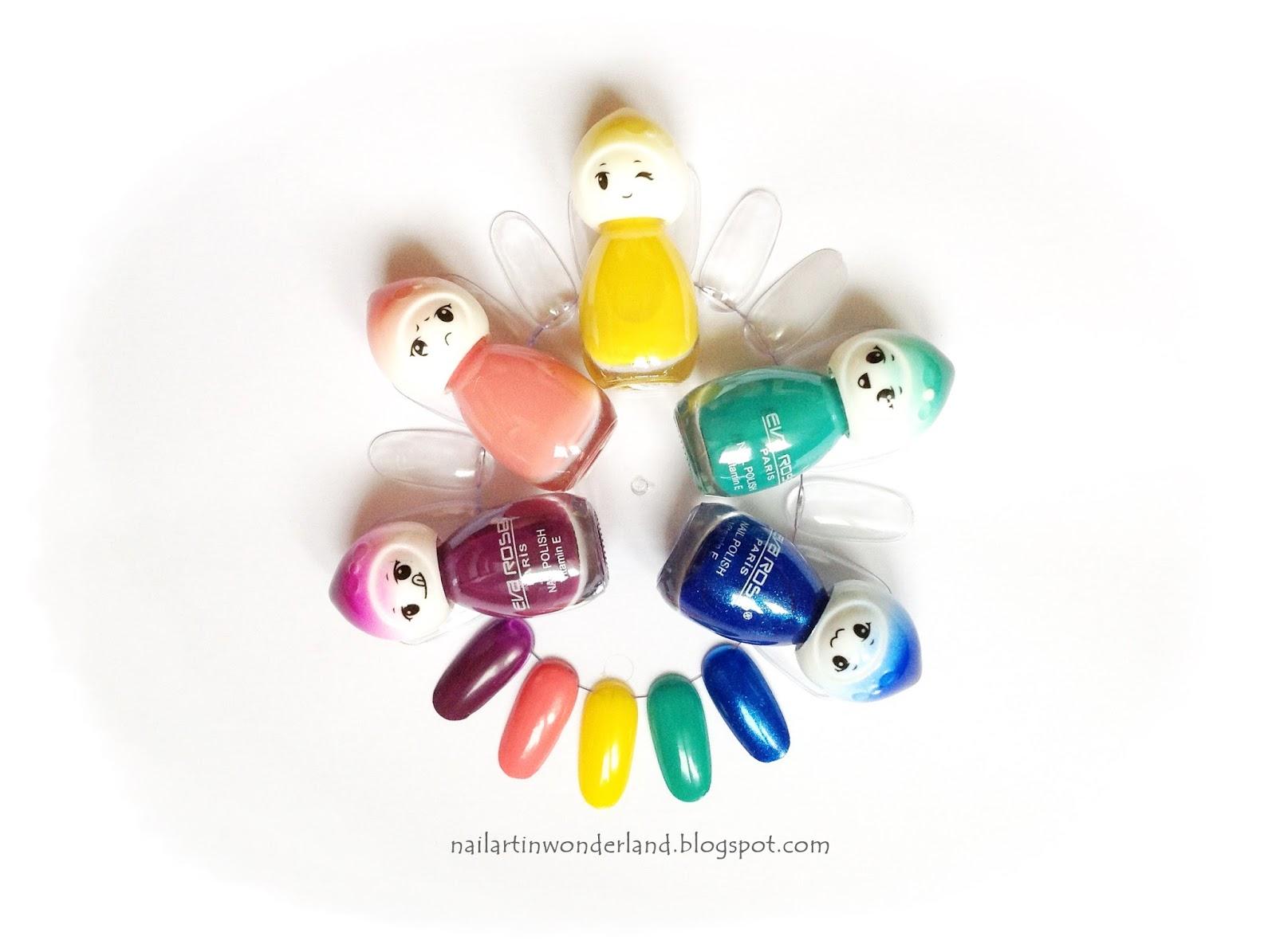 Eva Rose nail polish