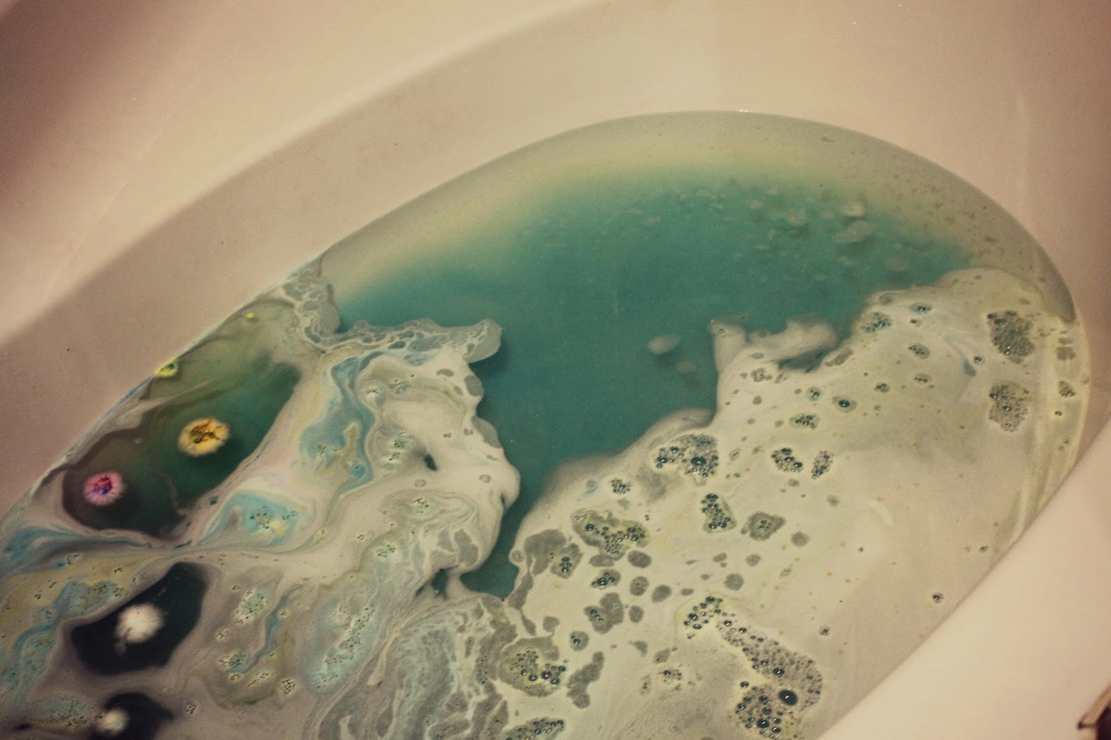 Prettiest bath bombs