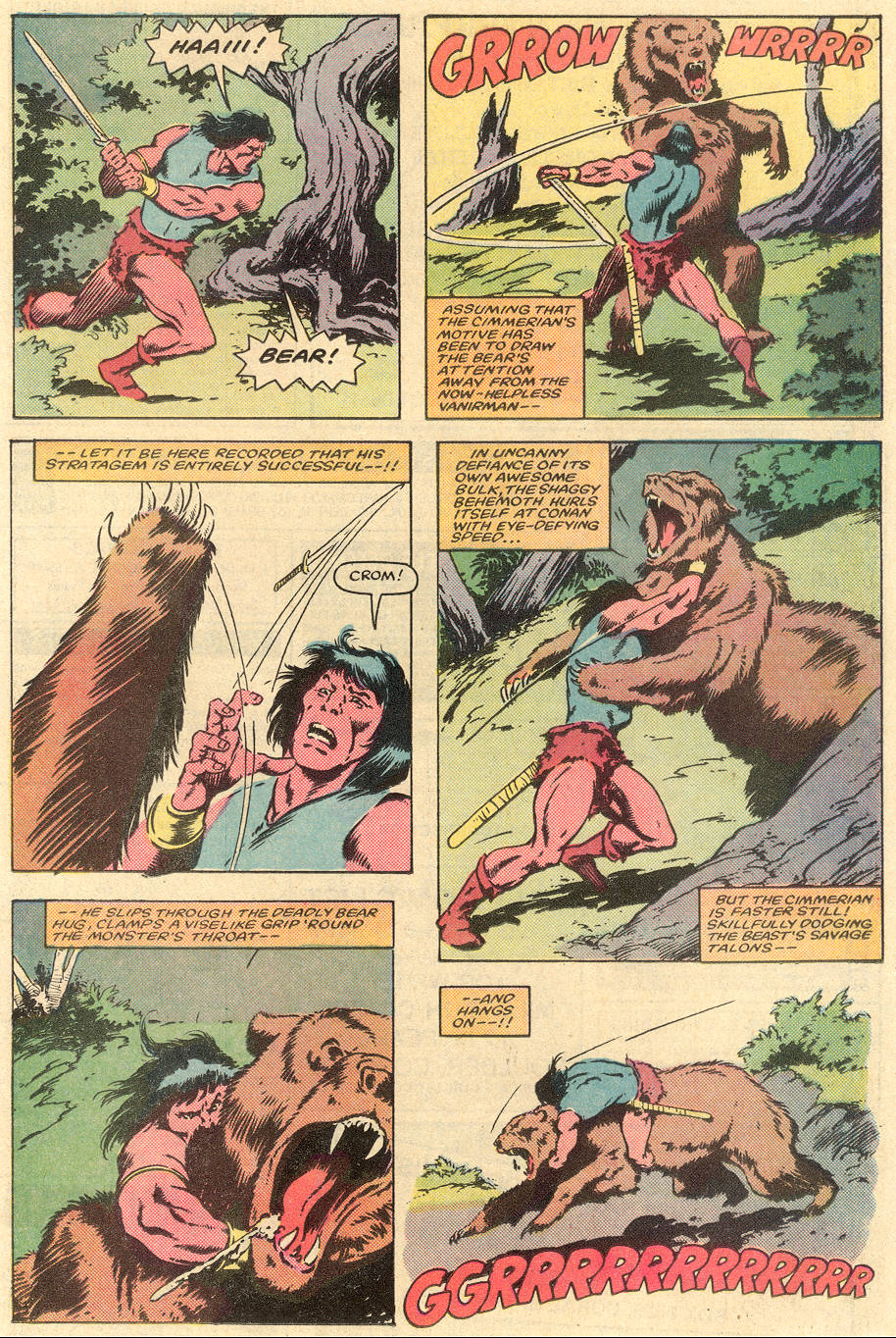 Conan the Barbarian (1970) Issue #163 #175 - English 8