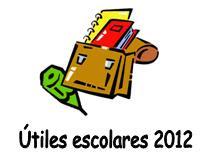 Lista de útiles 2012