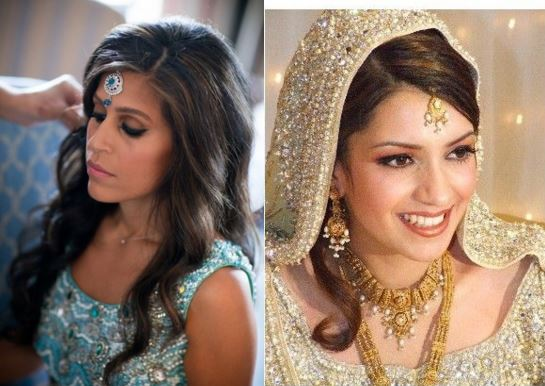 Mehndi Hairstyles With Tikka : Hair accessories to flaunt this wedding season bling sparkle