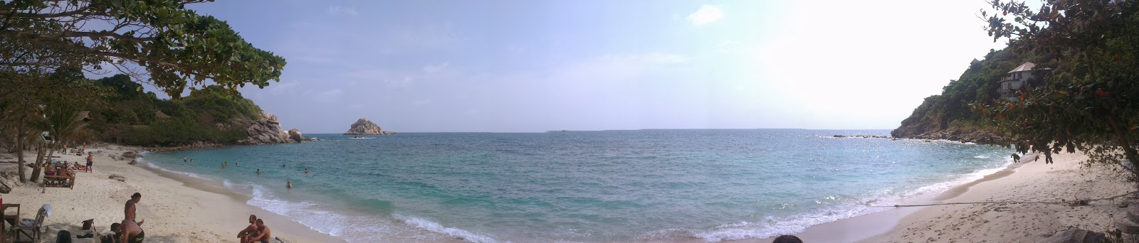 Panorama of beautiful beach
