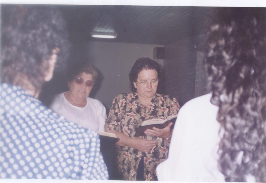 Meu exemplo de fé, amor e dedicação a obra do Senhor. Catarina Santos Fortes.
