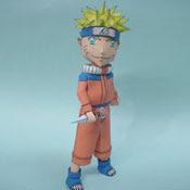 Naruto Papercraft Model