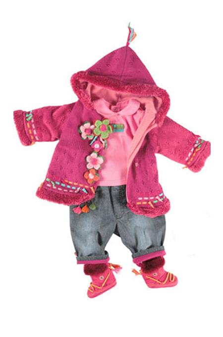 صورة ملابس شتوية للبنات الاطفال الرضع كمالة