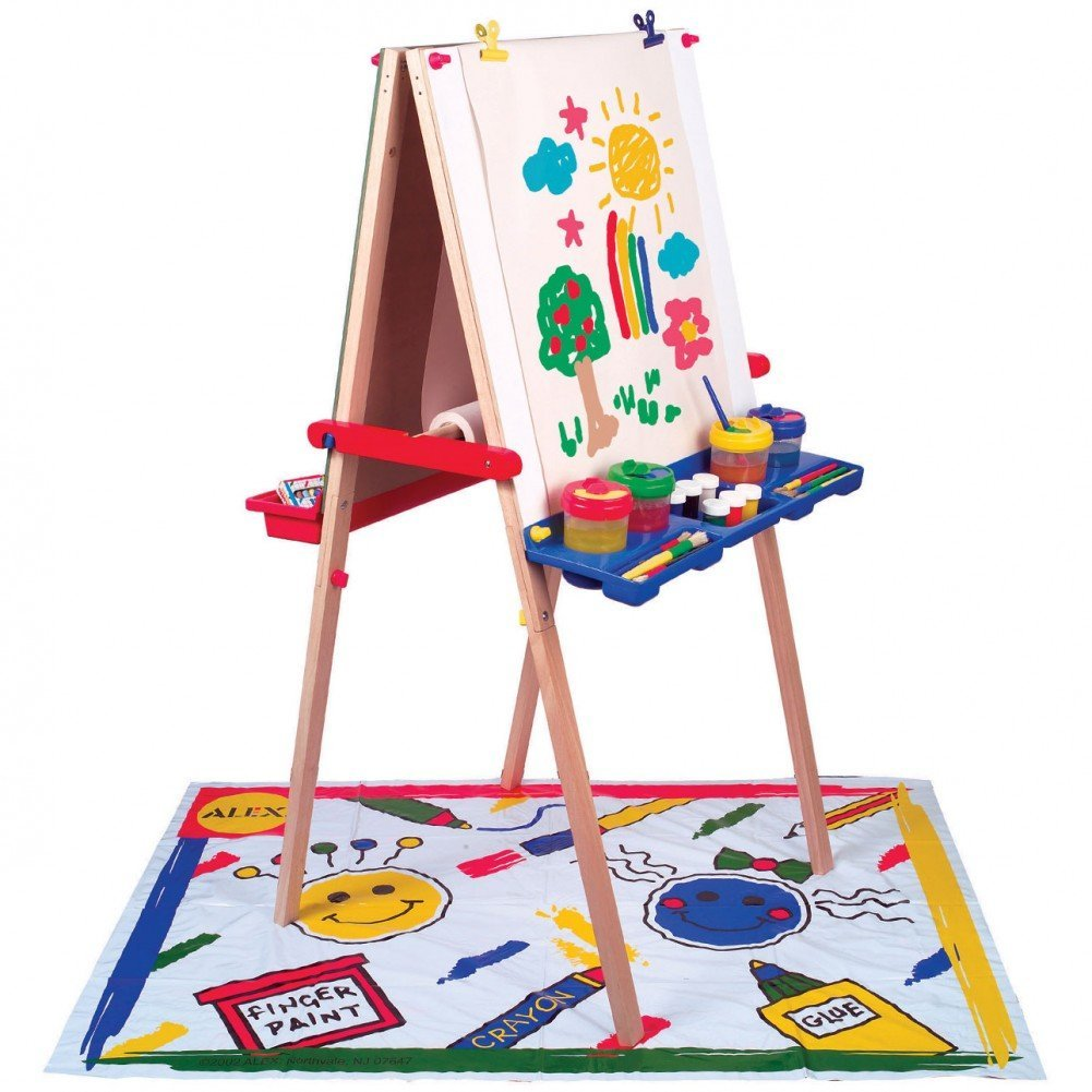 Magnetic Artist Easel with Accessories, Educational Toys