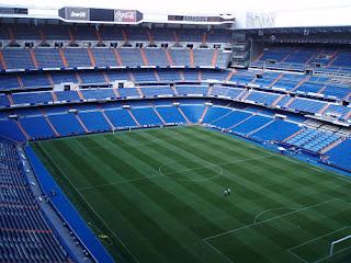 Segundo anfiteatro, Real Madrid, Santiago Bernabéu, fondo sur, estadio,
