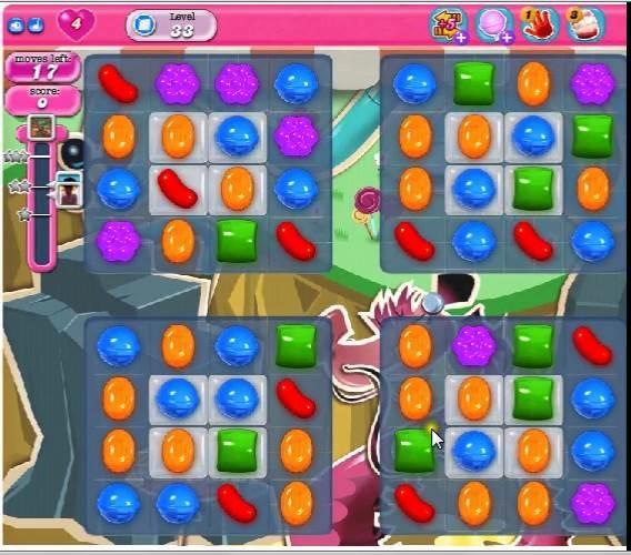 糖果粉碎传奇第33关 Candy Crush Saga Level 33