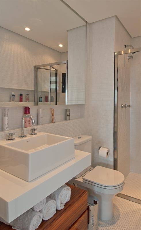 decoracao de apartamentos pequenos rustico:Decor pequenos com estilo: Banheiros pequenos e perfeitos.