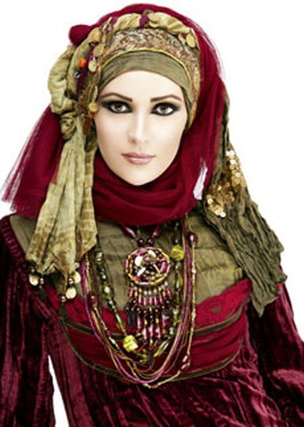 scarf can be worn in many different ways it can be wrapped around the  Muslim Scarf For Women