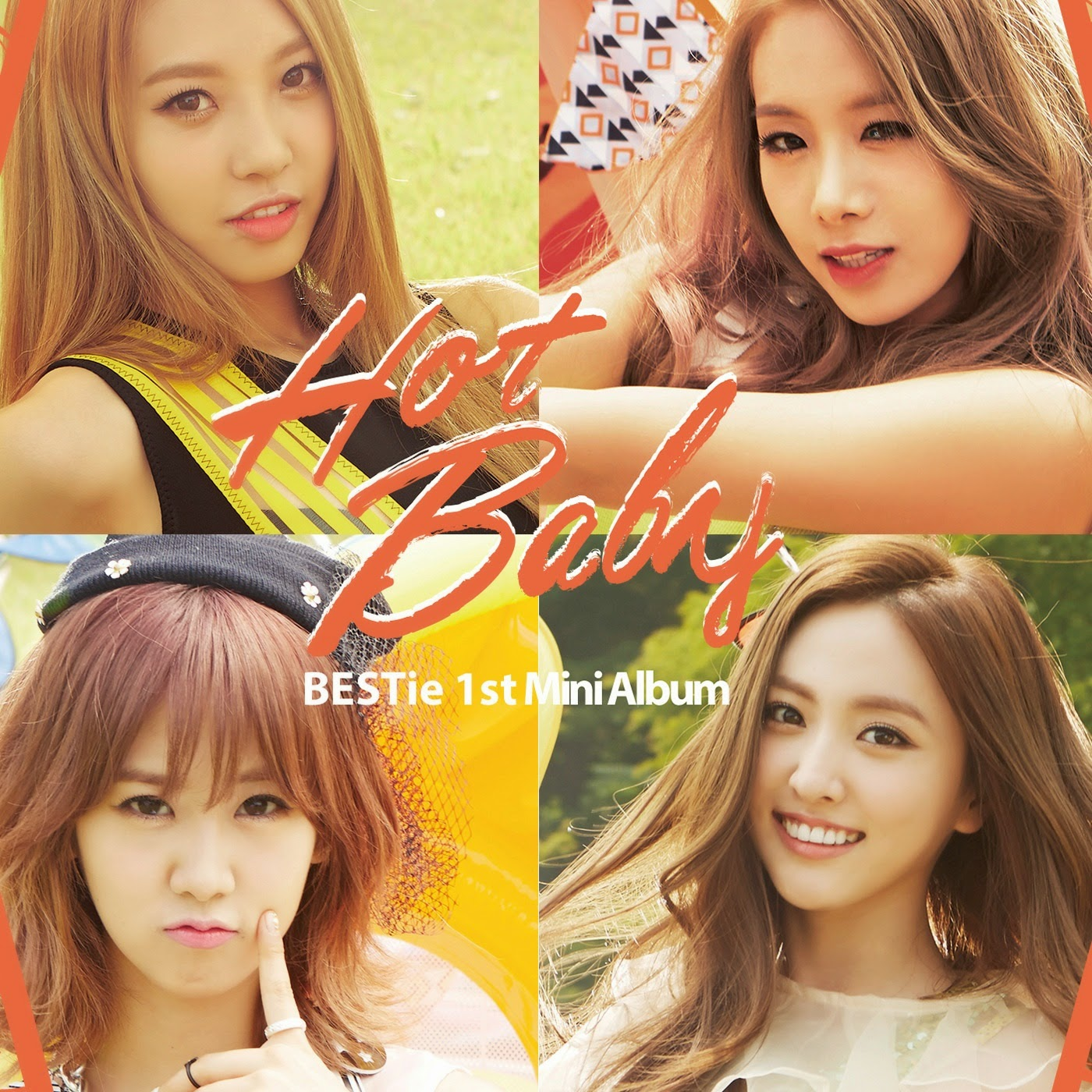 BESTie Hot Baby lyrics cover