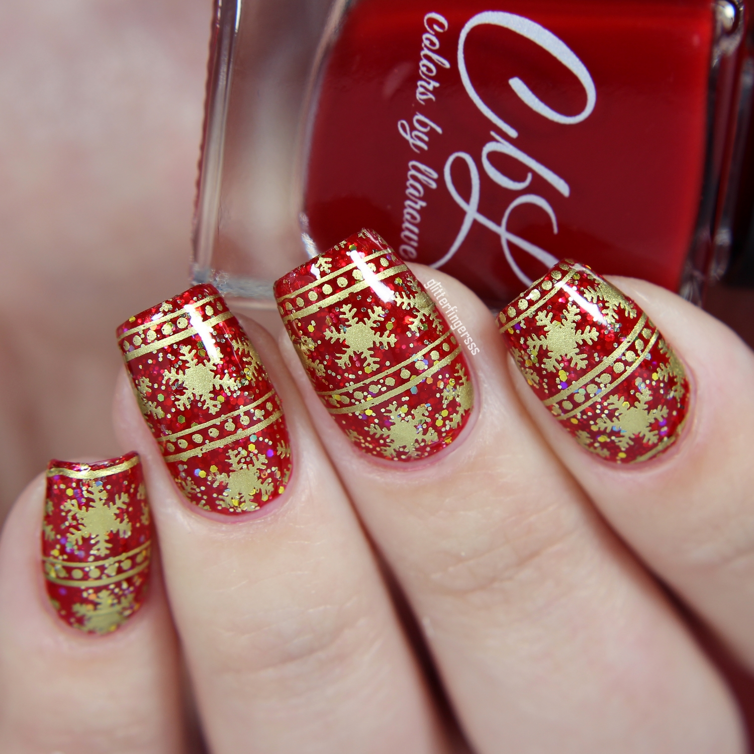 Born Pretty Store Blog Superb Awesome Snowflake Nail Art Show For