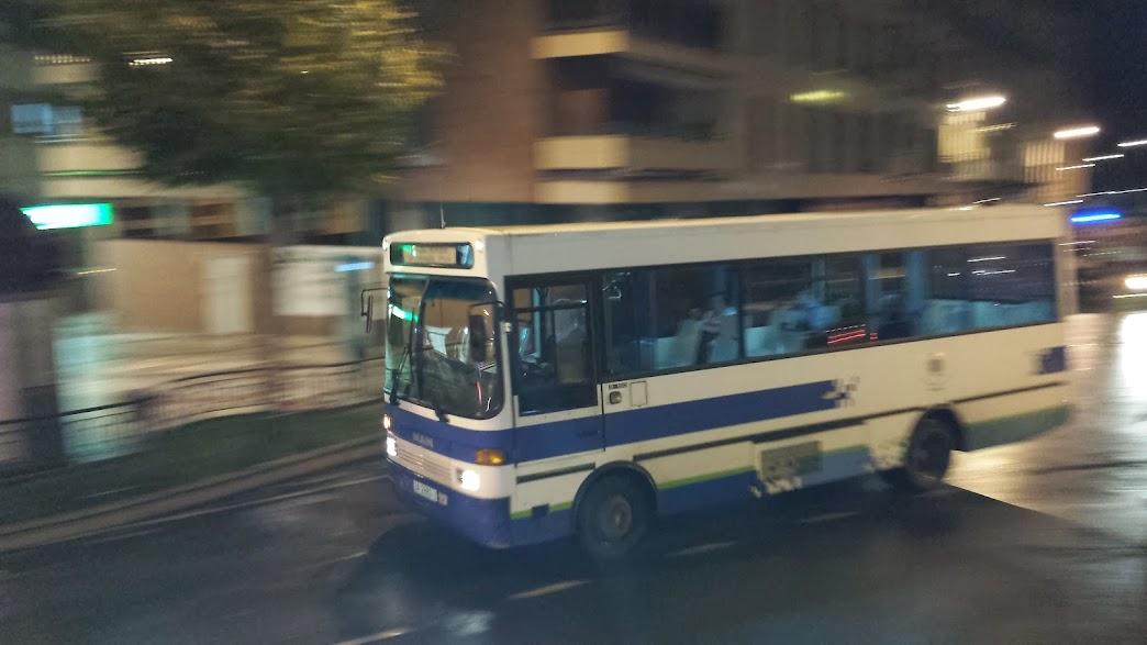 Autobus municipal de béjar