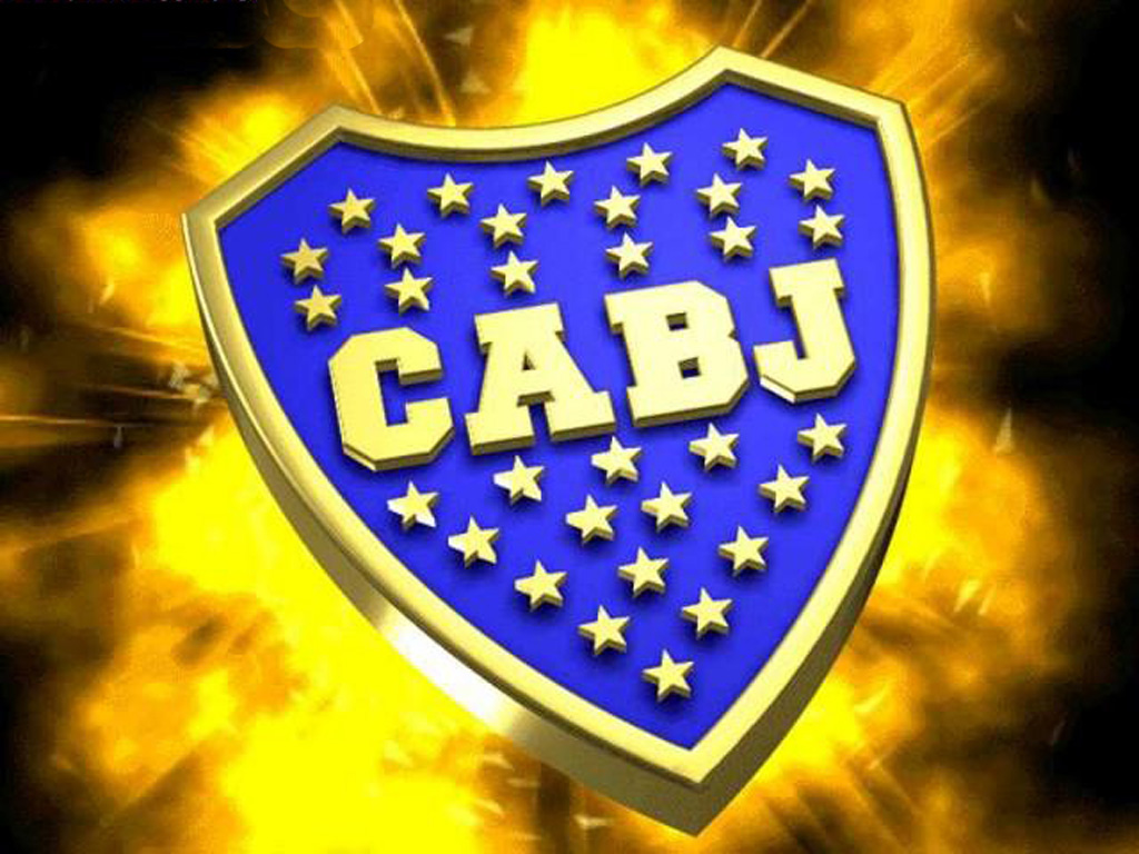 Boca Juniors Logo. CABJ - Stands for Club Atletico Boca Juniors