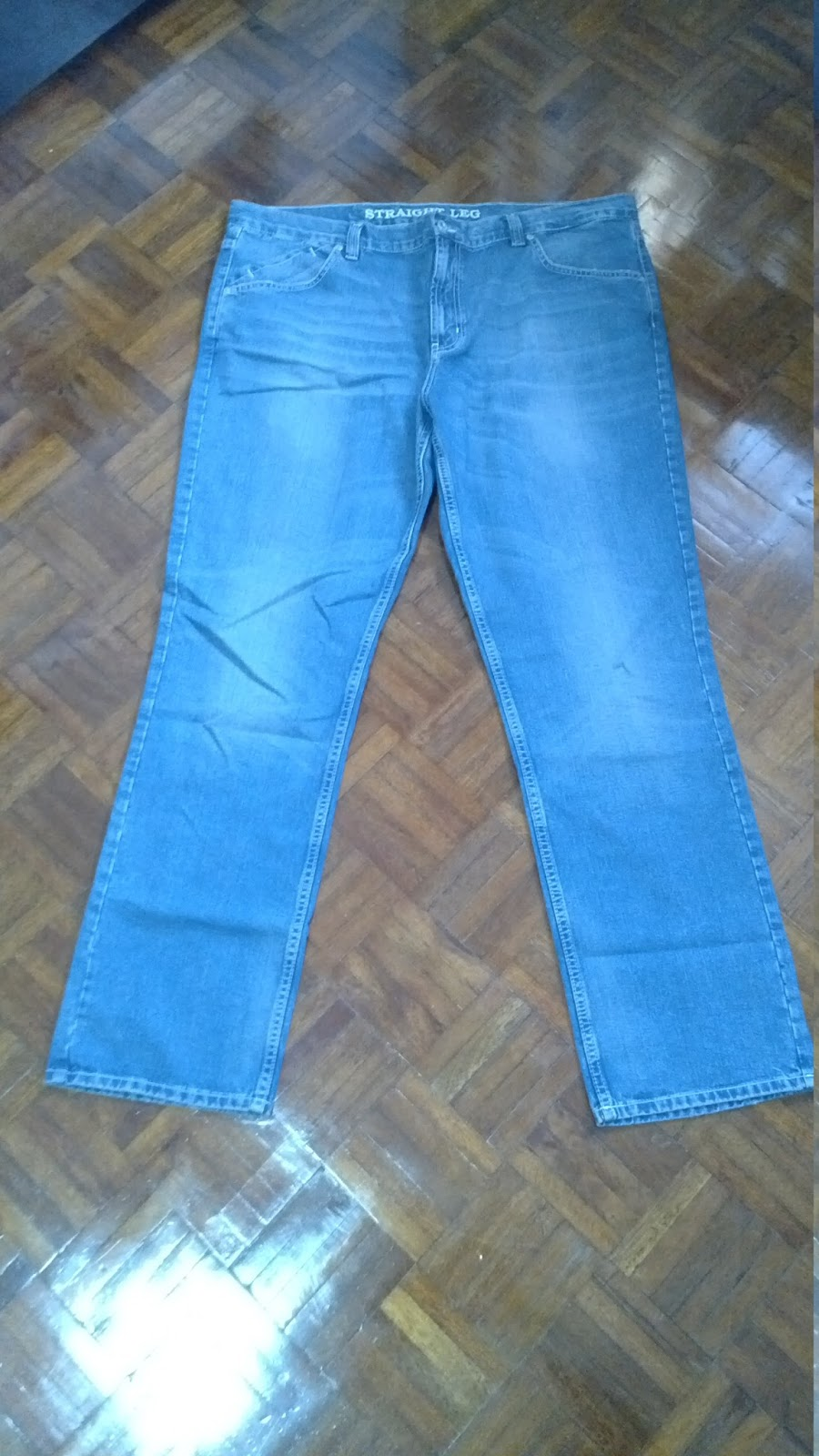 Jeans By Example Used Mark And Spencer Blue Jeans W42 L33