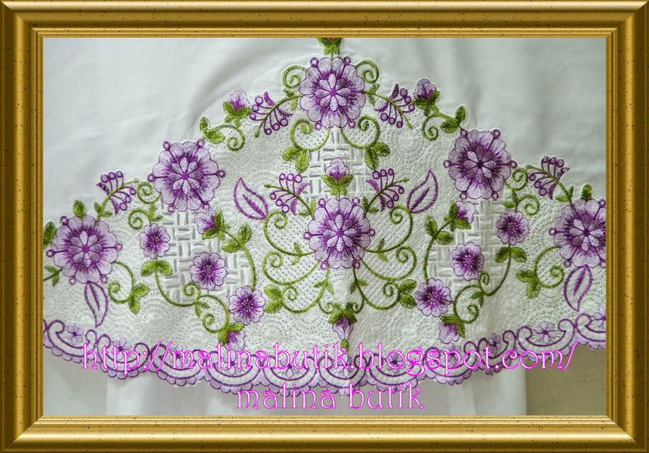 Malina Butik | Kain Sulam Timbul