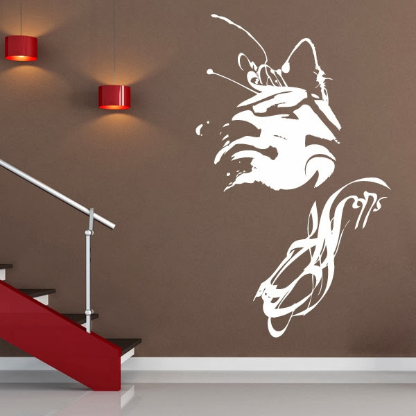 Wall decal quotes custom wall decals ideas for creating for Customize wall mural