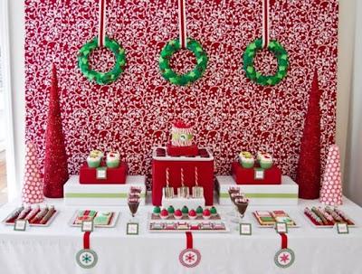 Christmas Sweet table