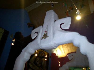 Cien Fuegos: Detalhe do teto