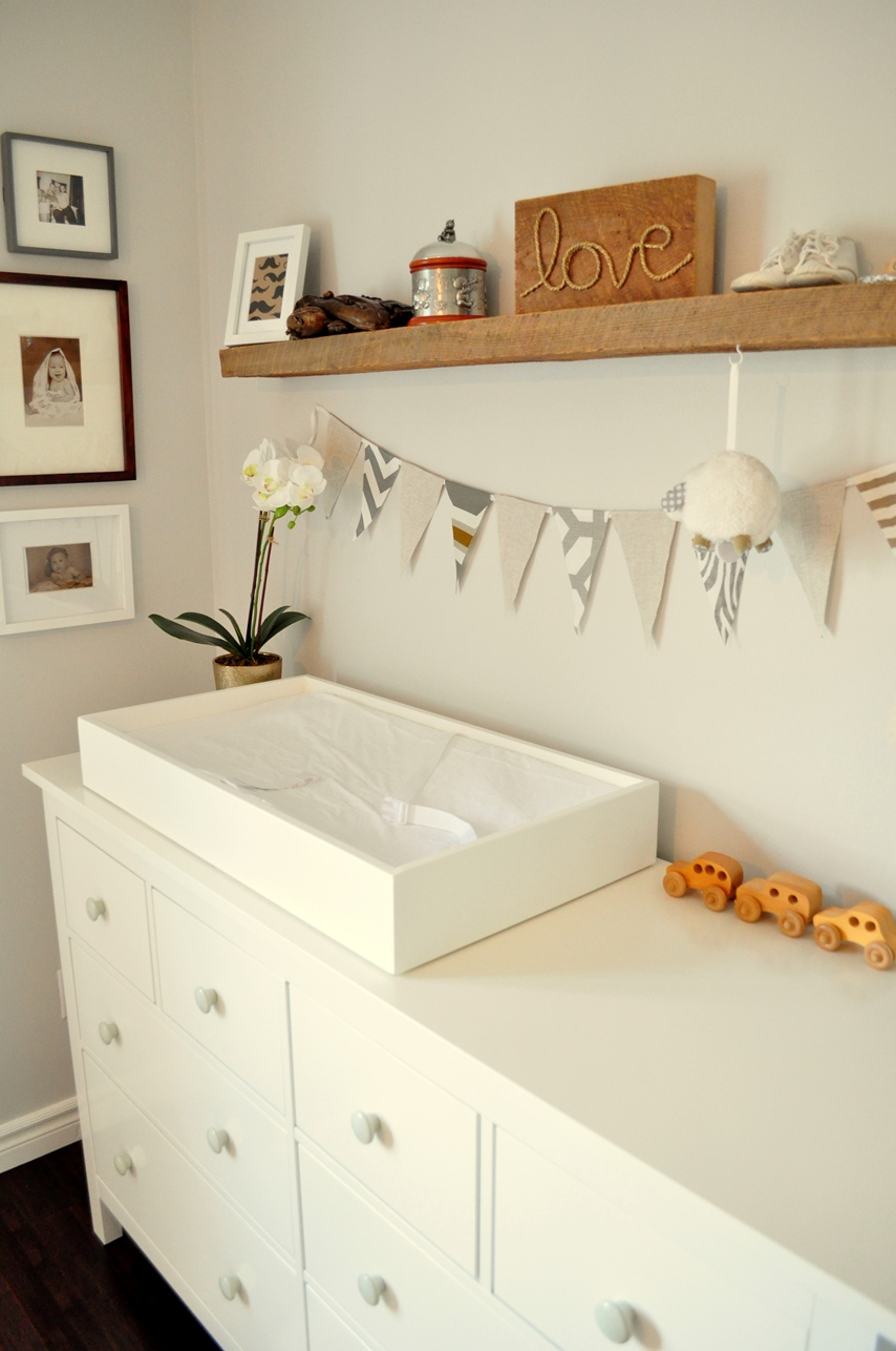 One  DIY  Step At A Time  Nursery Reveal. Living Beautifully   One  DIY  Step At A Time  Nursery Reveal