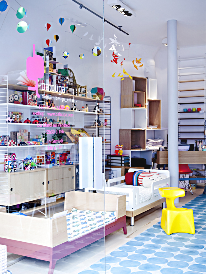 Balouga kids store in Paris photo Julie Ansiau