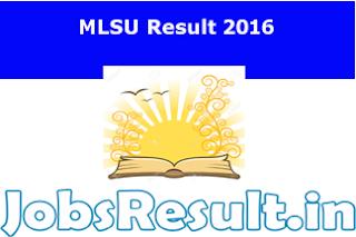 MLSU Result 2016