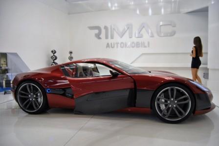 Rimac Concept One, un gran superdeportivo