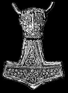 Mitologia Nórdica (Clique no Mjölnir e aprenda sobre História)