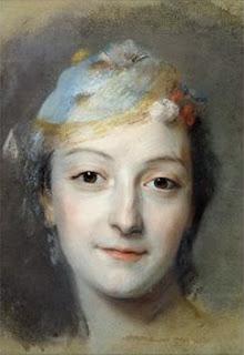 Marie Fel, by Quentin de La Tour (1757)