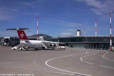Basel Mulhouse International Airport, Basel Internationella Flygplats, Swiss air, airplane, swiss flagg, schweiziskt flygplan