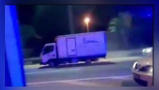 Polis kejar lori tak bertayar