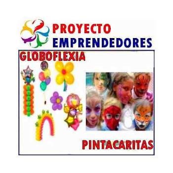 MEGAPACK FIESTA GLOBOFLEXIA MAS CARITAS PINTADAS