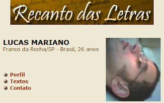 RECANTO DAS LETRAS