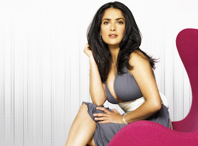 Salma Hayek Hollywood Actress Latest Hd Wallpaper 2013