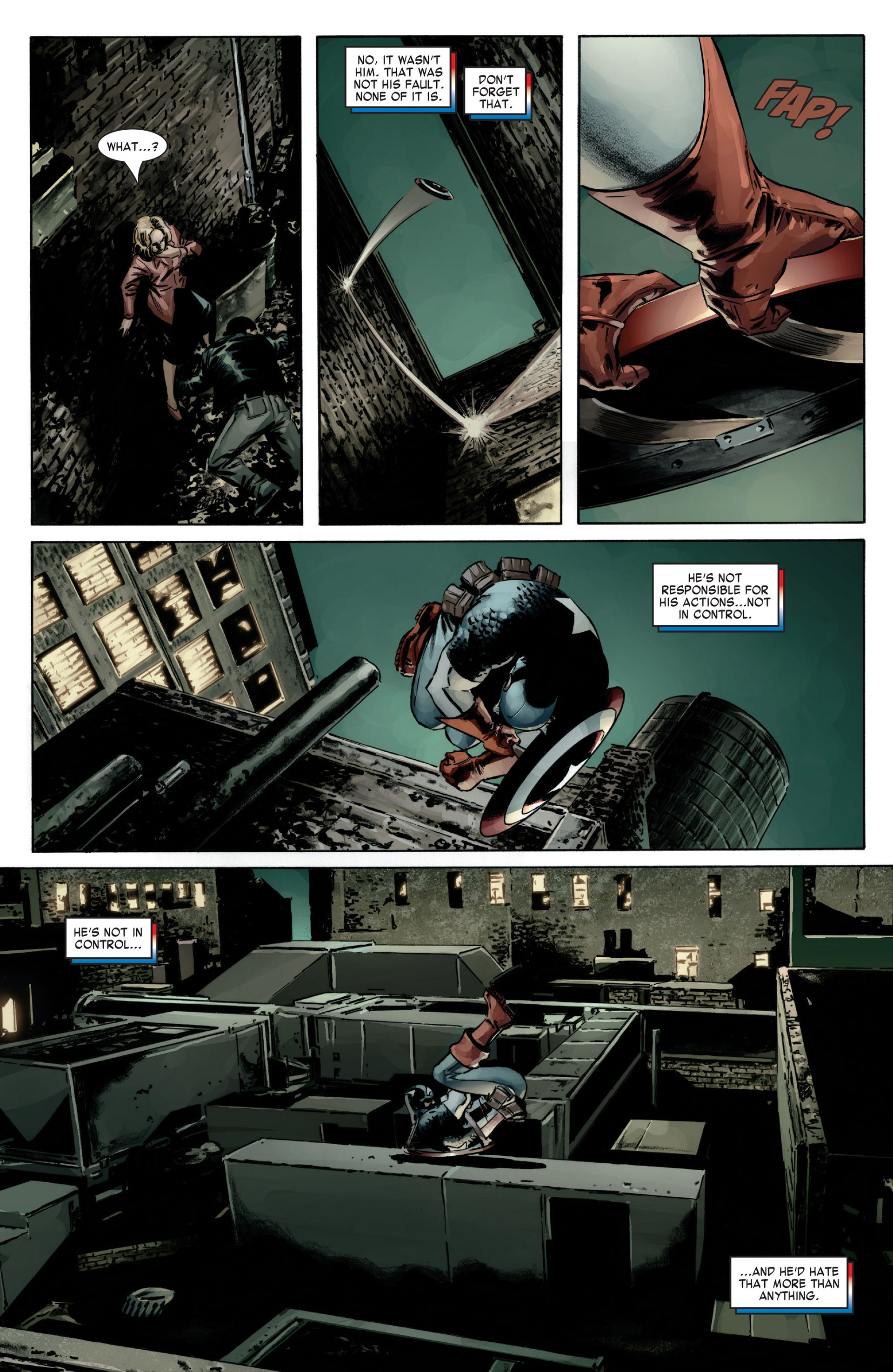 Captain America (2005) Issue #12 #12 - English 19