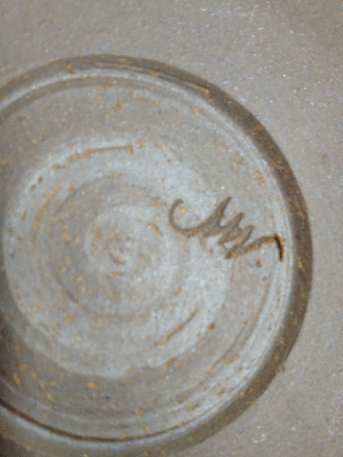 Ive Made My Mark Pottery Makers Marks Marian Williams Pottery