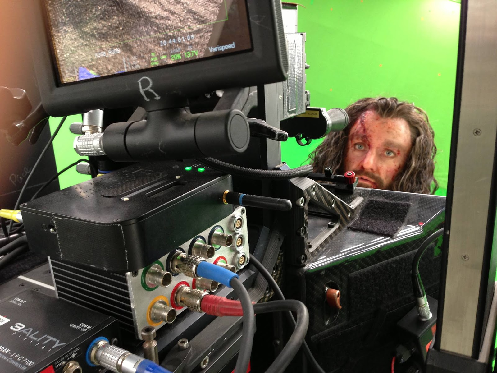 janine pineo a chapter ends from peter jackson s facebook page a shot of thorin played by richard armitage