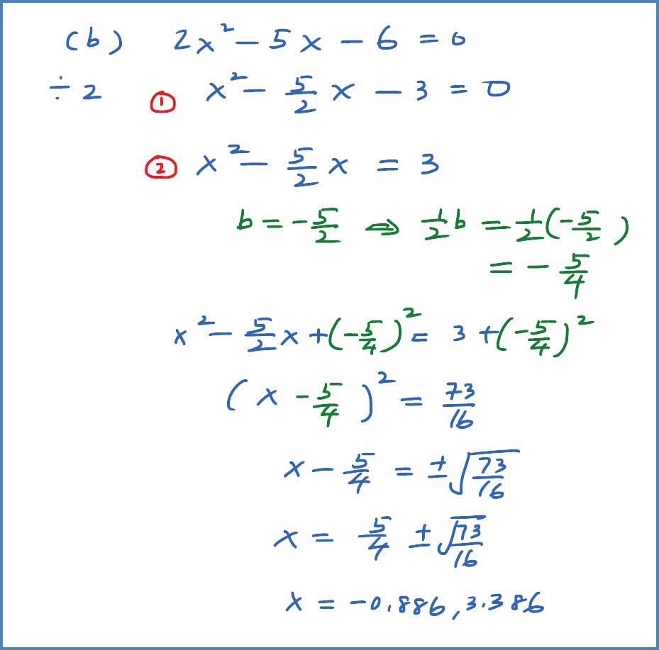 SPM Practice Question (Quadratic Equation) - Question 2   SPM Add ...