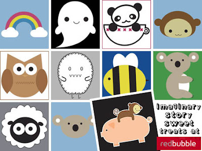 Imaginary Story at RedBubble
