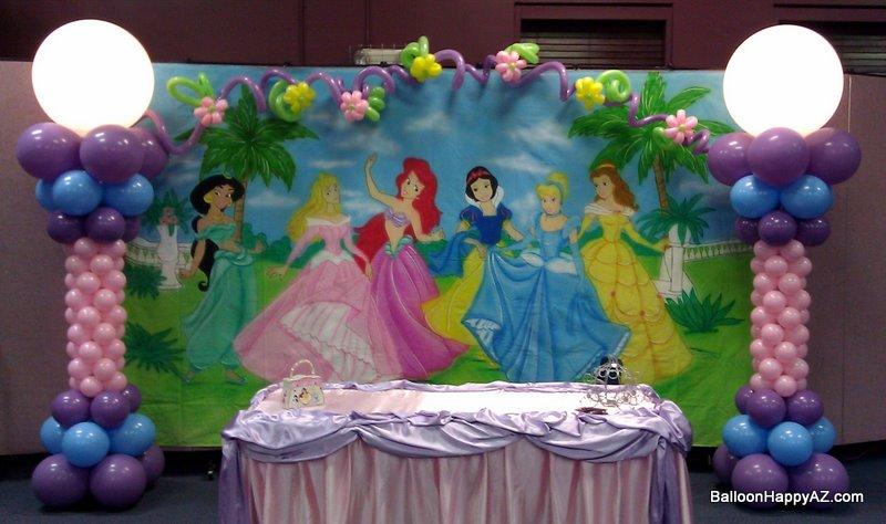 Balloon Happy AZ: Princess Party Balloon Decorations