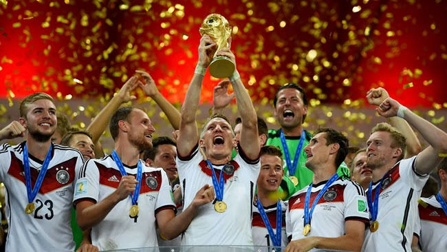 FIFA world cup 2014 Brazil champion Germany
